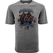 Levelwear Men's 2017 NBA Champions Golden State Warriors Grey T-Shirt