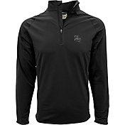Levelwear Men's Baylor Bears Black Metro Quarter-Zip Pullover