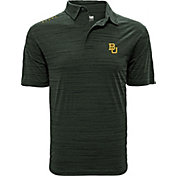 Levelwear Men's Baylor Bears Green Sway Polo