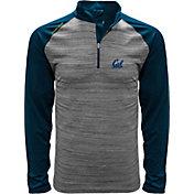 Levelwear Men's Cal Golden Bears Grey Vandal Quarter-Zip Shirt