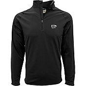 Levelwear Men's Kansas State Wildcats Black Metro Quarter-Zip Pullover