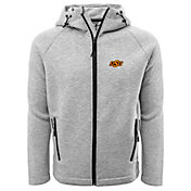 Levelwear Men's Oklahoma State Cowboys Grey Titan Full-Zip Jacket
