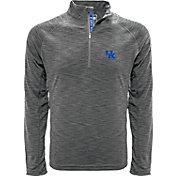 Levelwear Men's Kentucky Wildcats Grey Mobility Quarter-Zip Long Sleeve Shirt