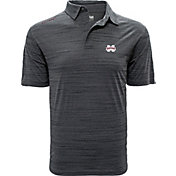 Levelwear Men's Mississippi State Bulldogs Grey Sway Polo
