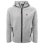 Levelwear Men's Mississippi State Bulldogs Grey Titan Full-Zip Jacket