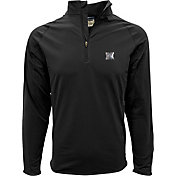 Levelwear Men's Nebraska Cornhuskers Black Metro Quarter-Zip Pullover
