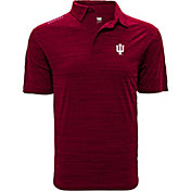 Levelwear Men's Indiana Hoosiers Crimson Sway Polo