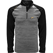 Levelwear Men's Purdue Boilermakers Grey Vandal Quarter-Zip Shirt