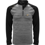 Levelwear Men's Purdue Boilermakers Grey Vandal Quarter-Zip Shirt