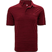 Levelwear Men's Arkansas Razorbacks Cardinal Sway Polo