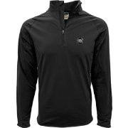 Levelwear Men's South Carolina Gamecocks Black Metro Quarter-Zip Pullover