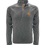 Levelwear Men's Tennessee Volunteers Gray Mobility Long Sleeve Quarter-Zip Shirt