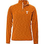 Levelwear Men's Tennessee Volunteers Tennessee Orange Mobility Quarter-Zip Long Sleeve Shirt