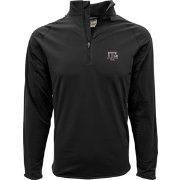 Levelwear Men's Texas A&M Aggies Black Metro Quarter-Zip Pullover