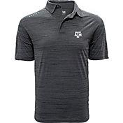 Levelwear Men's Texas A&M Aggies Grey Sway Polo