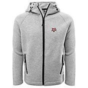 Levelwear Men's Texas A&M Aggies Grey Titan Full-Zip Jacket