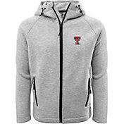 Levelwear Men's Texas Tech Red Raiders Grey Titan Full-Zip Jacket