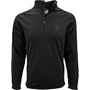Levelwear Men's Vanderbilt Commodores Black Metro Quarter-Zip Pullover