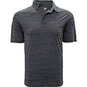 Levelwear Men's Washington Huskies Grey Sway Polo