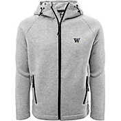 Levelwear Men's Washington Huskies Grey Titan Full-Zip Jacket