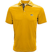 Levelwear Men's Nashville Predators Gold Helium Polo