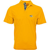 Levelwear Men's Nashville Predators Gold Omaha Polo