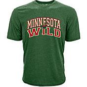 Levelwear Men's Minnesota Wild Performance Arch Green T-Shirt