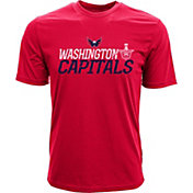 Levelwear Youth 2017 NHL Stanley Cup Playoffs Washington  Capitals Red T-Shirt