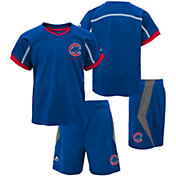 Majestic Boys' Chicago Cubs Cool Base Legacy Shorts & Top Set