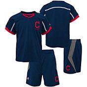 Majestic Boys' Cleveland Indians Cool Base Legacy Shorts & Top Set