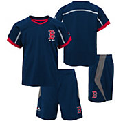 Majestic Boys' Boston Red Sox Cool Base Legacy Shorts & Top Set