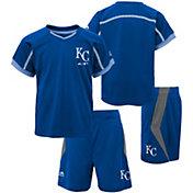Majestic Boys' Kansas City Royals Cool Base Legacy Shorts & Top Set