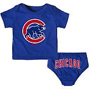 Majestic Infant Chicago Cubs 2-Piece Mini Uniform Set