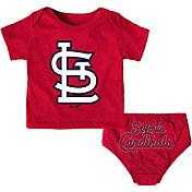 Majestic Infant St. Louis Cardinals 2-Piece Mini Uniform Set