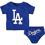 Majestic Infant Los Angeles Dodgers 2-Piece Mini Uniform Set