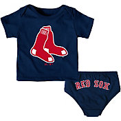 Majestic Infant Boston Red Sox 2-Piece Mini Uniform Set