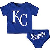 Majestic Infant Kansas City Royals 2-Piece Mini Uniform Set