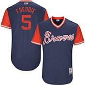 """Majestic Men's Authentic Atlanta Braves Freddie Freeman """"Freddie"""" MLB Players Weekend Jersey"""