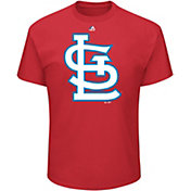 Majestic Men's St. Louis Cardinals MLB Players Weekend Logo T-Shirt