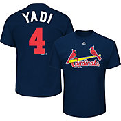 "Majestic Men's St. Louis Cardinals Yadier Molina ""Yadi"" MLB Players Weekend T-Shirt"