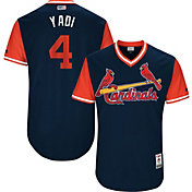 "Majestic Men's Authentic St. Louis Cardinals Yadier Molina ""Yadi"" MLB Players Weekend Jersey"