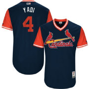 Majestic Men's Authentic St. Louis Cardinals Yadier Molina