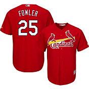 Majestic Men's Replica St. Louis Cardinals Dexter Fowler #25 Cool Base Alternate Red Jersey