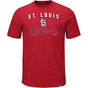 Majestic Men's St. Louis Cardinals Stoked Red T-Shirt
