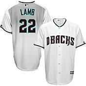Majestic Men's Replica Arizona Diamondbacks Jake Lamb #22 Cool Base Home White Jersey