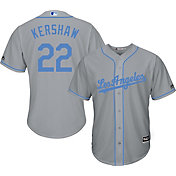 Majestic Men's Replica Los Angeles Dodgers Clayton Kershaw #22 2017 Father's Day Cool Base Jersey