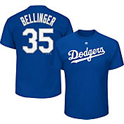 Majestic Men's Los Angeles Dodgers Cody Bellinger #35 Royal T-Shirt