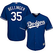 Majestic Men's Replica Los Angeles Dodgers Cody Bellinger #35 Cool Base Alternate Royal Jersey
