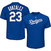 Majestic Men's Los Angeles Dodgers Adrian Gonzalez #23 Royal T-Shirt