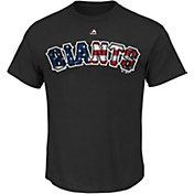 Majestic Men's San Francisco Giants Black Americana T-Shirt